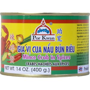 Can Minced Crab Spice 400g