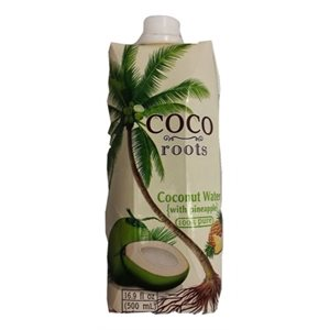 Coconut Water with Pineapple