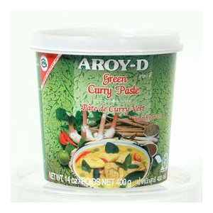 Green Curry Paste Jar 400g