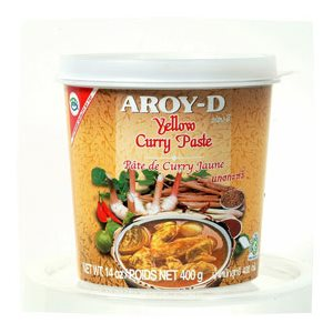 Yellow Curry Paste Jar 400g