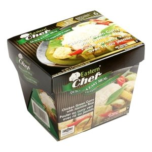 Frz Green Curry Chicken with Rice