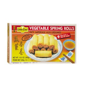 Frz Vegetable Spring Roll