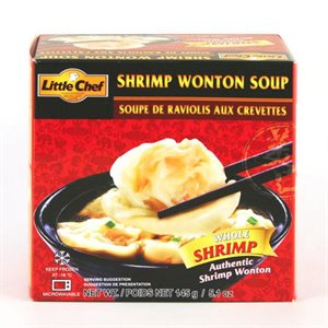 Frz Shrimp Wonton Soup 5pcs -12 pack