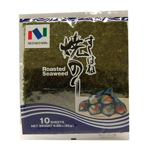 Nico Nori Roasted Seaweed (10 sheets) -RE-PACK