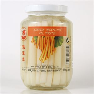 Pickled Lotus Root in Brine